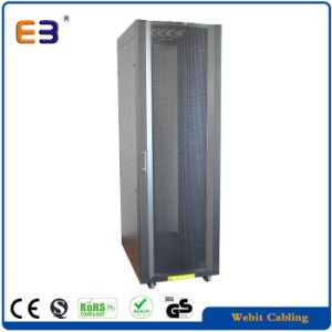 Heavy Duty Type Server Rack with Front Arc Perforated Door pictures & photos