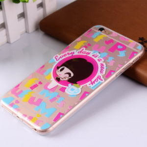 for iPhone Custom Duel-Side Coverage Pattern Mobile Cell Phone Case pictures & photos