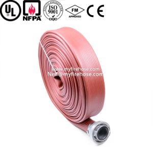 3 Inch Nitrile Rubber Wear Resistance of Farm Irrigation Durable Layflat Hose pictures & photos