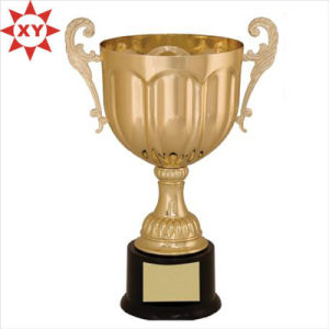 Manufacture Metal 3D Gold Troch Trophy Cup pictures & photos