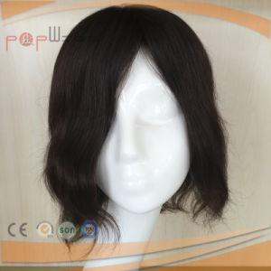 Poly Perimeter Black Hair Mens Toupee pictures & photos
