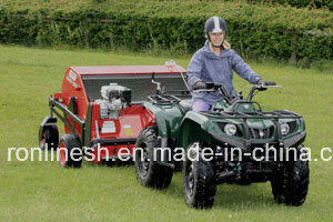 5.5HP Engine or Honda Engine Powered ATV/Quad/UTV/Tractor Towable Sweeper/Collector/Paddock Cleaner/Grass Collector/Paddock Sweeper Horse Muck, Leaf, Acorn pictures & photos