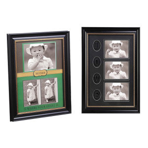 Plastic Decoration Frame in Multiple Opening with Mat pictures & photos