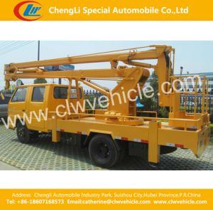 4*2 Lifting Platform /High Altitude Operation Truck pictures & photos