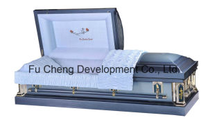 2016 Newest and Hotest American Style Furneral Metal Casket pictures & photos