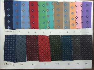 New Check /DOT Design Micro Fibre Fabric Necktie pictures & photos