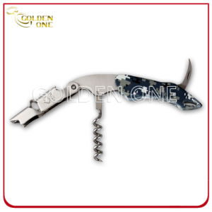 Multi- Color Different Pattern Stainless Steel Pulltap Wine Opener pictures & photos