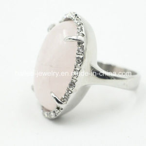Best Sale Fashion Stainless Steel Finger Ring Jewelry with Crystal pictures & photos