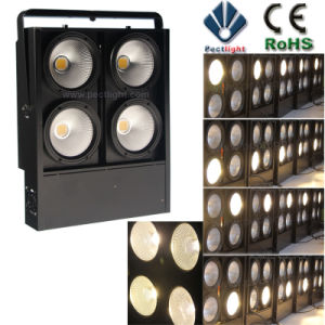 High-Brightness 4X100W LED Blinder Stage Light pictures & photos
