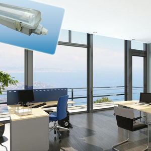 Hot Sale IP65 T8 Tri-Proof Light (Single tube) , LED Lamp pictures & photos