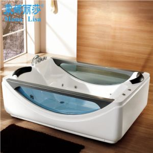 Monalisa 2016 New High Quality Two Person Whirlpool Bathtub (M-2046) pictures & photos