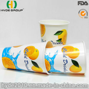 12 Oz Cold Drinking Paper Cup with Shiny/ Gloss Printing pictures & photos