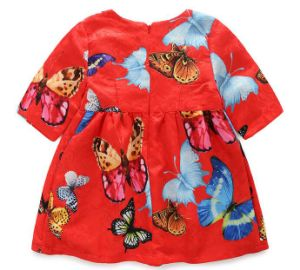 Fashion Baby Frocks in Chidlren Clothes Dress pictures & photos