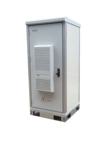 Outdoor Aluminum Cabinet with 1 Door for Telecom Industry