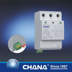 3phase SPD 10ka Lightning Arrester Surge Protection Device pictures & photos