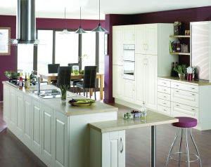 Ritz Wooden Kitchen Cabinets for Sale pictures & photos