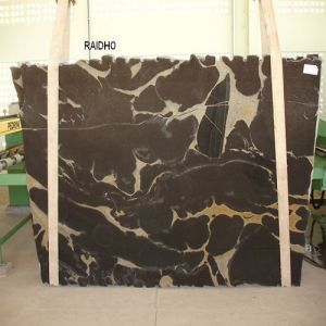 Italy/Polished/Natural/Black Marble Slab Raido for Luxury Hotel Flooring/Wall Tile/Counter Tops pictures & photos
