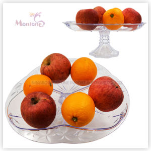 367g Plastic Fruit Plate/Dish, Fruit Serving Tray, Fruit Bowl pictures & photos