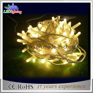 230V Outdoor Use PVC LED Fairy String Light for Christmas Decoration Waterproof IP65 5mm LED String Lights pictures & photos
