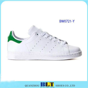 Hot Sale Brand Casual Shoes with Leather White Stan Smith pictures & photos