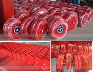 "3/4"" Swing Type PVC Fire Hose Reel pictures & photos"
