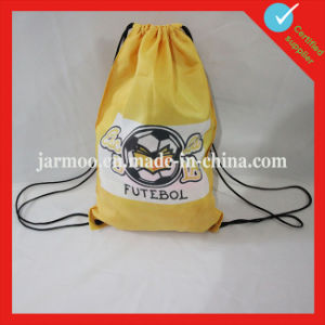 Outdoor Polyester Orange Drawstring Bag pictures & photos