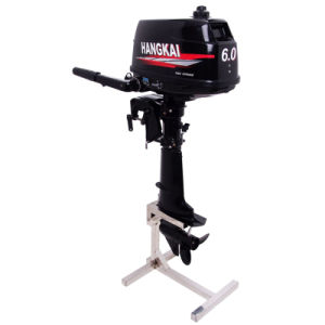 6HP China Outboard Motor Water Cooled 2 Stroke Boat Engine pictures & photos