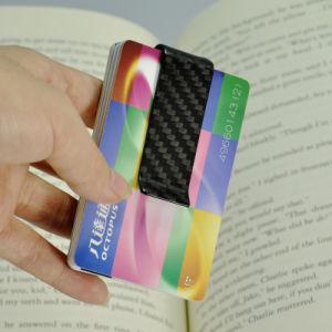 Hot Trend Slim Carbon Fiber Money Clip Credit Card Holder pictures & photos