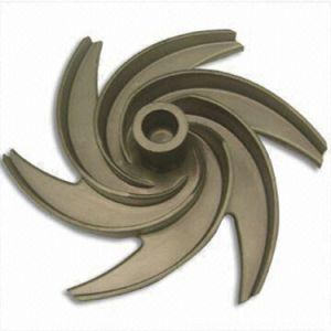 Custom Bronze Casting Impeller for Water Pump pictures & photos