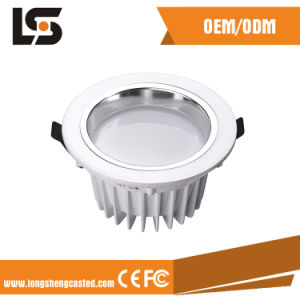 ADC12 Aluminum Waterproof LED Street Light Die Cast Cover Production pictures & photos