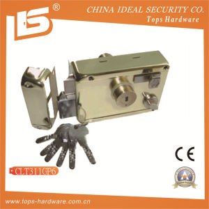 Security High Quality Door Rim Lock (CLT311GP6) pictures & photos