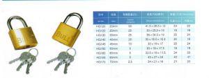 Hg120 High Quality Brass Door Padlock pictures & photos