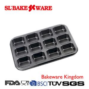 12 Cup Lamington Pan Carbon Steel Nonstick Bakeware (SL BAKEWARE)