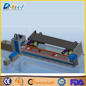 Ipg 1000W Fiber Metal Tube Laser Cutting Machine 10mm Steel Pipe Laser Cutter Dia 220mm pictures & photos