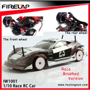 1: 10 Scale RC Race Car with Metal Frame and Tg04 Transmitter