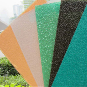 Zhejiang Aoci Polycarbonate Embossed Sheet pictures & photos