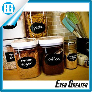 Black Labels Waterproof Stickers for Jars Boxes Personalizing Anything pictures & photos