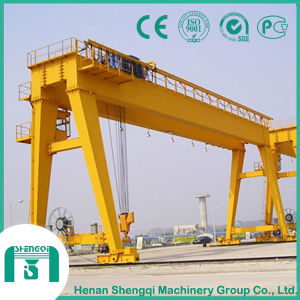 Capacity 5 Ton to 50 Ton Double Girder Gantry Crane pictures & photos