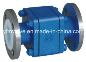Floating Ball Check Valve with PFA Lined pictures & photos