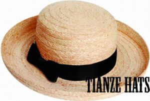 Raffia Straw Braid Pork Pie Hat pictures & photos