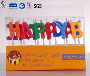 Factory Price Environmental Protection High Grade Manufacturer of Birthday Candle pictures & photos