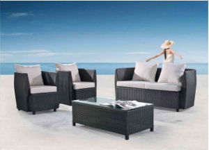 Outdoor Leisure Furniture Alu Rattan Sofa pictures & photos