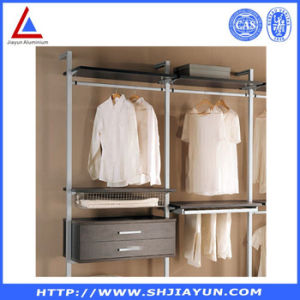 Aluminium Profile System Wardrobe Customized as to Drawings pictures & photos