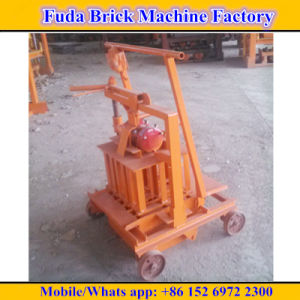 Qt40-3c Price Mini Mobile Concrete Block Machine pictures & photos