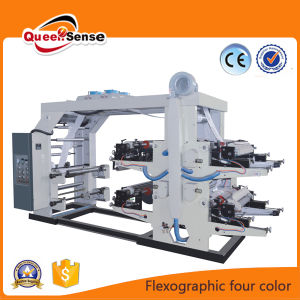 PP PE Film 4 Coloured Plastic Flex Printing Machine pictures & photos