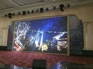Indoor LED Screen Panel of P10 SMD 3in1 pictures & photos