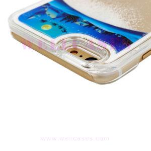 Christmas Santa Claus/Snowman Quicksand Mobile Phone Case for iPhone 5/6/6plus pictures & photos