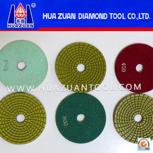 4-7 Inch Diamond Polishing Pad for Stone Grinding pictures & photos