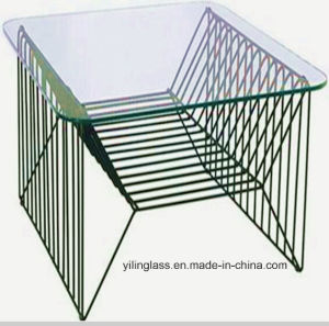 Relaxing Clear Toughened Table Glass (model 3) pictures & photos