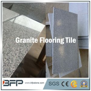 China Natural Stone Polished Grey Granite Floor Tile for Stair/Facade pictures & photos